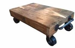 Industrial Railcart Coffee Table DIF-1414