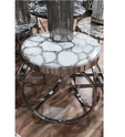 Handicraft Agate Table