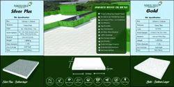 White Roofing Tiles White Feet