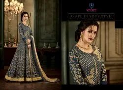 ARIHANT DESIGNER Georgette Anarkali Suits Collection For Women, Machine wash