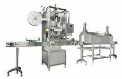 Sleeves Shrink Wrapping Machine