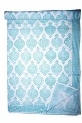 Jaipuri Hand Block Printed Bed Sheet 100% Cotton Bedsheet Bedspread