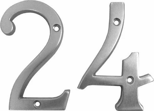 INAL-53 0-9 Aluminum Numerals