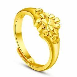 Raja Ram Jewellery Women Las Gold Ring Packaging Type Box