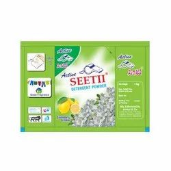 Jasmine & Lemon 1 Kg Active Seetii Washing Powder, For Laundry
