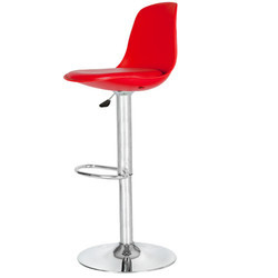 Red Colored Bar Stool