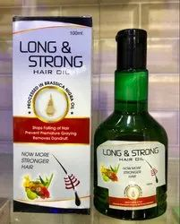 Long & Strong Hair Oil, Packaging Size: 100 mL