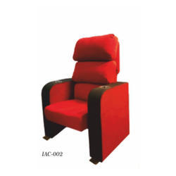 Red Push Back Theater Chair