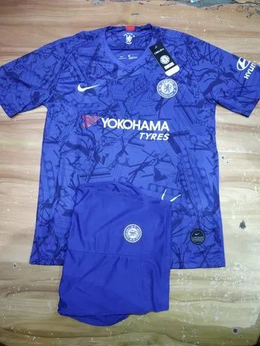 detailed look 1d3d9 4715c 2019/20 Chelsea Fc Home Jersey