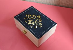 Leather Ring & Jewellery Box
