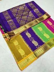 multy degain saree Party wear Silk Sarees, Dry clean