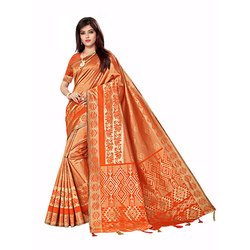 303 Ladies Art Silk Saree