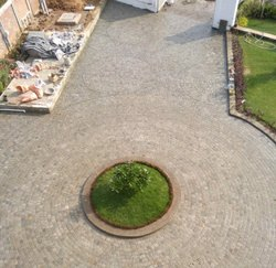 Natural Cobble Stones for Driveway