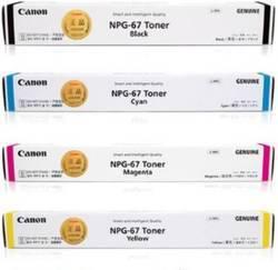 Canon Original NPG-67 Full Set of Toner Cartridge