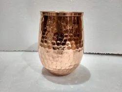 Round Copper Glass