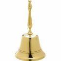 Deluxe Brass Golden Finish Hand Bell
