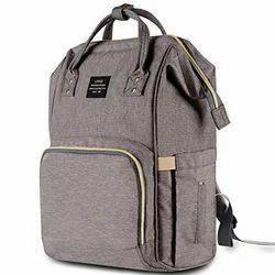 Baby Stylish Diaper Waterproof Bag - Gray
