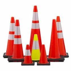 Orange Pvc Traffic Cones