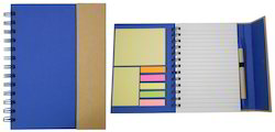 Business Directory Sticky Note Pad with Pen