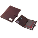 Leatherette Brown Folder