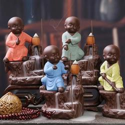 Karate Monk Smoke Buddha Fountain