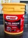 Red Gel Grease Lithium