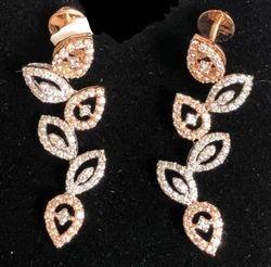 Natural Diamond Earring (DJ-E7)