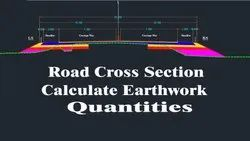 Earthwork Excavation Cut and Fill Quantity Calculation Service