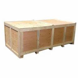 Termite Resistant Rectangle Hard Wood Packaging Box, 5-15 mm, Box Capacity: 1500-2000 kg