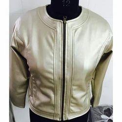 Creem Full Sleeve Ladies Leather Jackets