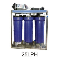Automatic Commercial Reverse Osmosis System, Number of Membranes in RO: 3, 25LPH