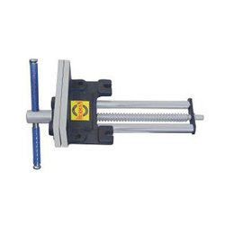 Greaded Casting Herman HE 141 H - Standard Heavy Wood Working Vice, Size: 150 / 175 / 200 / 225 Mm, Base Type: Fixed