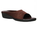 Bata Brown Chappals For Women, Size: 3-8
