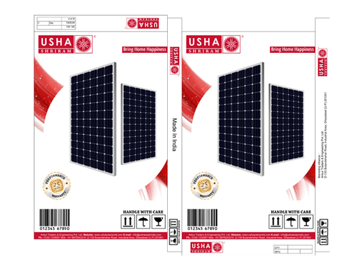 Usha Shriram Solar Pv Modules/solar Panels