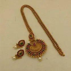 Karishma Kreations Matte Finish Jewellery Set -1502