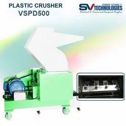 Hynaar MS Body Plastic Crusher VSPD500, Capacity: 100-150 Ton Per Day