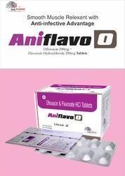 Ofloxacin 200mg   Flavoxate 200mg
