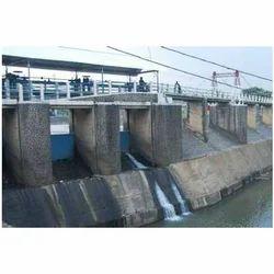 International Cranes River Water Control Gate System