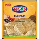 Pale Yellow Salty Punjabi Masala Papad