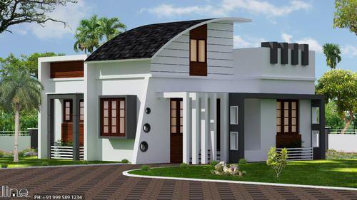 48D48D Interior And Exterior Design In Kodungallur Thrissur Line Fascinating 2D Interior Design Exterior