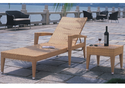 Golden Rattan Loungers, Size: 6 Feet