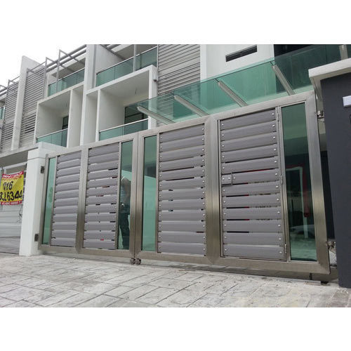 stainless steel safety gate, ss safety gate, जंगरोधी