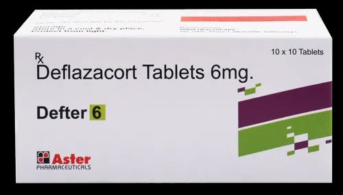 Aster Pharmaceutical 6 Mg Deflazacort 6mg Tab ( Defter - 6 ) for Clinical