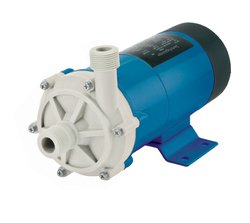 Polypropylene Sealless Magnetic Drive Centrifugal Pumps, 520 Lpm