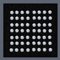 Loose CVD Diamonds HIJ VVS SI Star Size Lab Grown Cultured Synthetic Stones Round Brilliant Cut