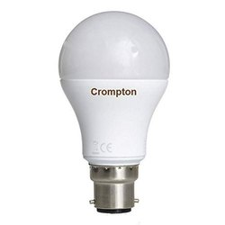 Chrome Round Crompton LED Bulb