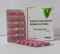Drotaverine HCL 80 mg Mefenamic Acid 250 mg