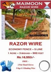 Maimoon 5 Feet Farm Fence, For Farms And Plots