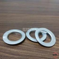 No. 32 Aluminum Flat Eyelets & Washers Polished