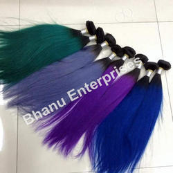 Colored Human Hair Extension
